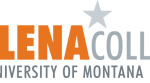 Orange and grey website logo for Helena College