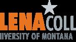 Orange and grey website logo for Helena College