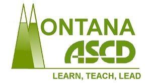 Montana ASCD logo - learn, teach, lead subtitle